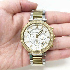 Michael Kors MK5626 Women's Two Tone Watch 10 ATM